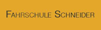 Fahrschule Schneider.